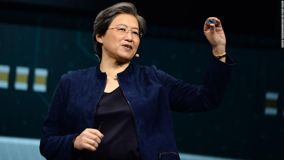 She brought AMD back from the brink of bankruptcy