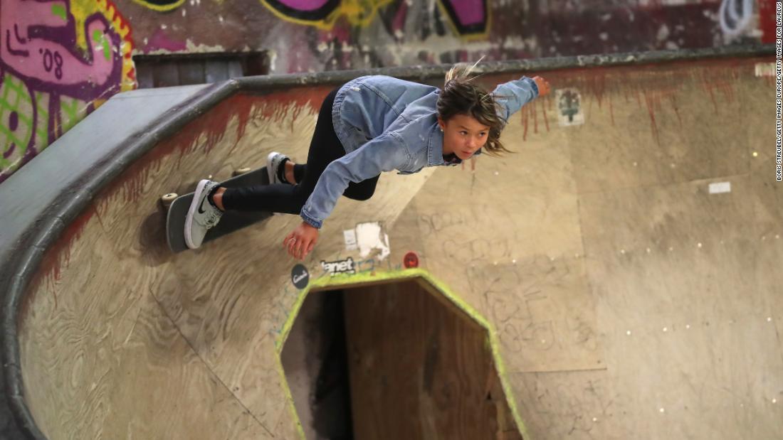 Sky Brown: Skateboarder, 11, hospitalized after a horrific fall