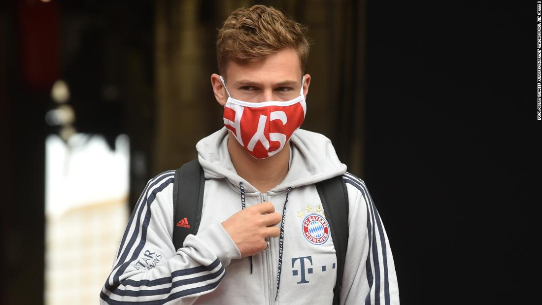 Joshua Kimmich says Bayern Munich plans to join George Floyd's protest