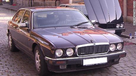 Police say this Jaguar car was originally registered on behalf of the suspect, but the day after Madeleine's disappearance, the car was re-registered with someone else in Germany.