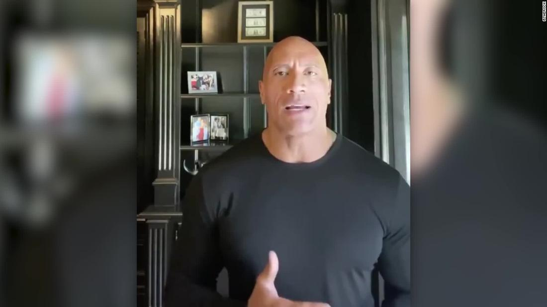 Dwayne Johnson strongly complains about the lead