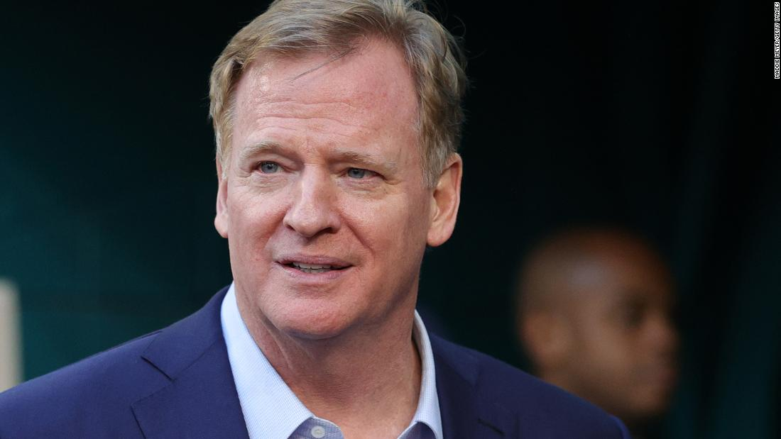 NFL Commissioner Roger Goodell says the league was to blame for players not hearing about racism before