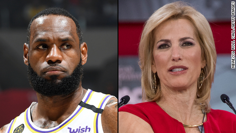 LeBron James invites Fox News host Laura Ingraham to defend Drew Brees