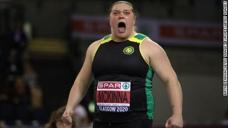 McKinna began her career from a young age as a sprinter.