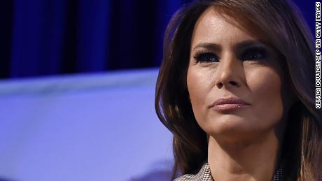 Melania Trump is sending messages frustrating the West Wing, the source says