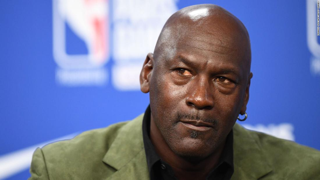 Michael Jordan says 'this is a turning point' for racism in society