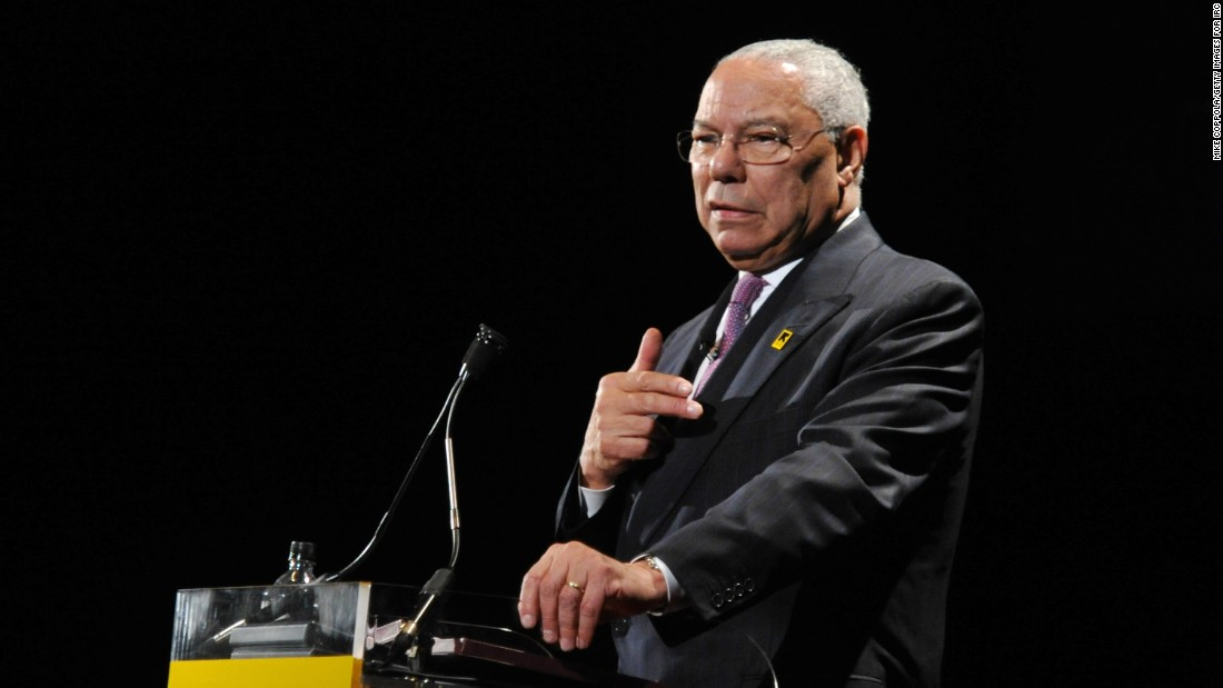 Colin Powell: Trump lies 'all the time'