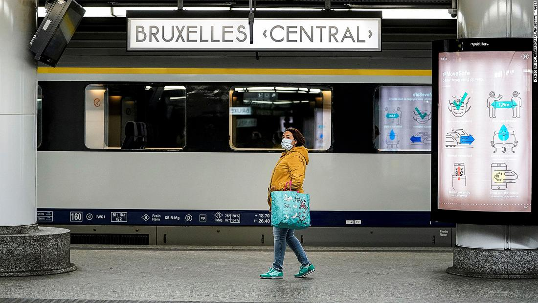 Belgium gives 10 free train journeys to all residents at the time of facilitating the lock