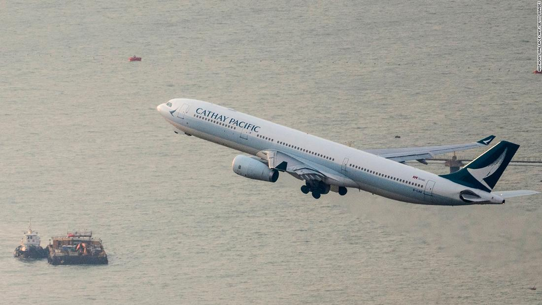 Hong Kong is contributing $ 5 billion to Cathay Pacific