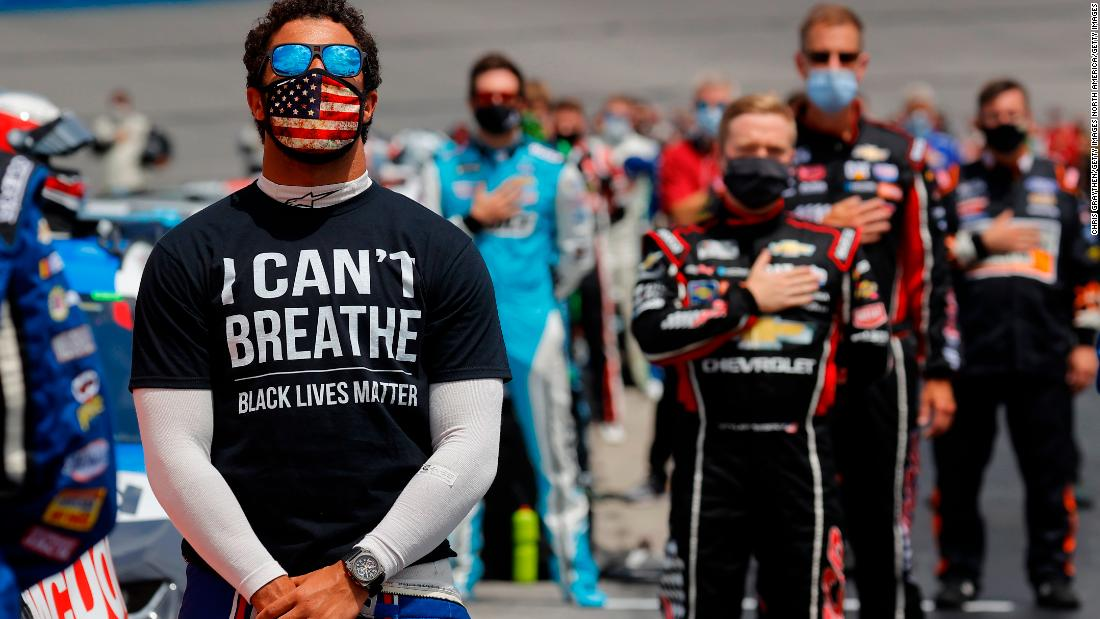 NASCAR's Bubba Wallace wants to get rid of Confederate flag racetracks