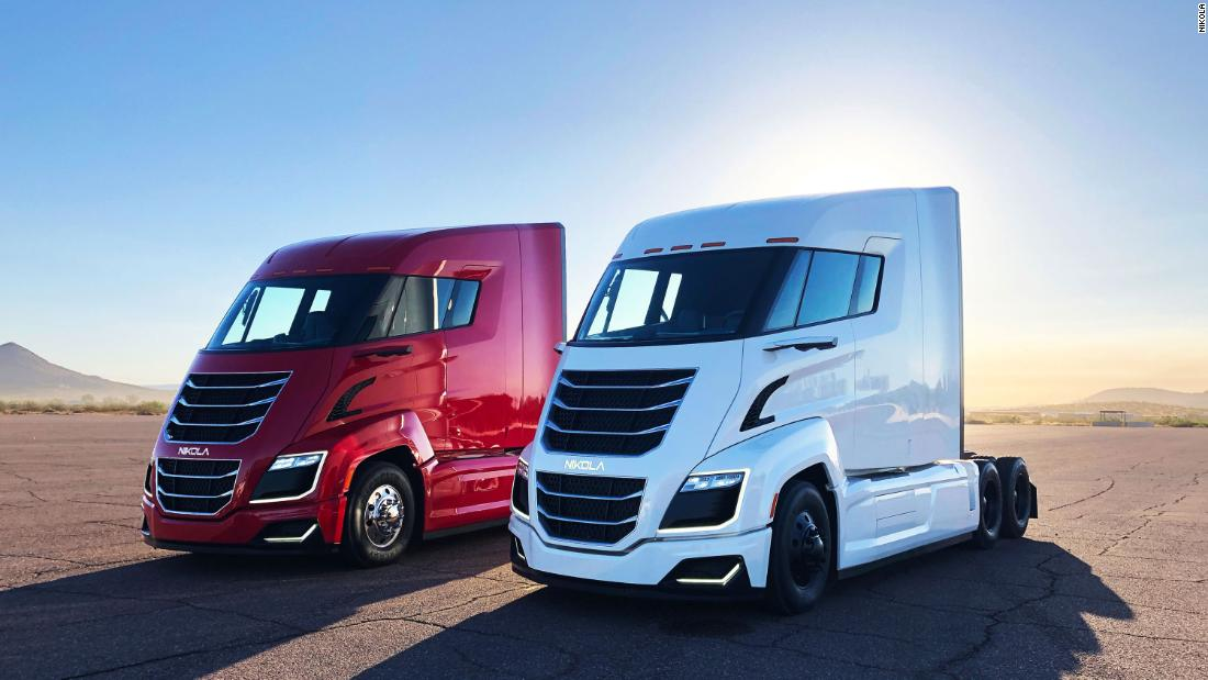 Watch out, Tesla. Nikola is a new new stock of electric trucks