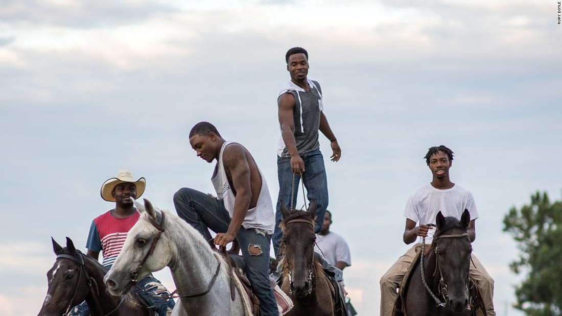 """Rory Doyle's """"Riders Delta Riders"""" today focuses on black cowboy culture"""