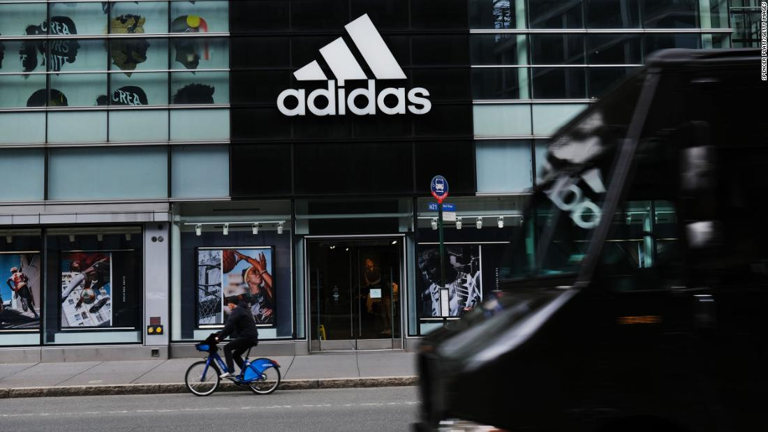 Adidas says at least 30% of new U.S. positions will be filled by black or Latinx people