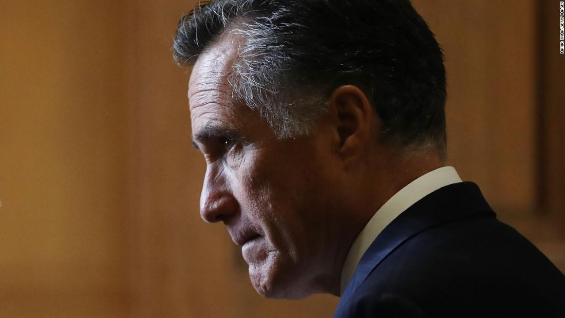Mitt Romney is now a lone GOP voice ready to oppose Trump