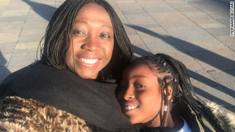 CNN reporter Stephanie Busari and her daughter moved to Nigeria from London four years ago.