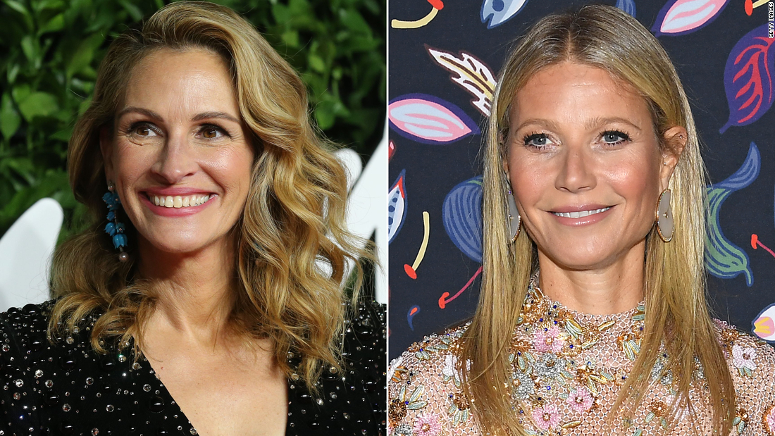 Julia Roberts, Gwyneth Paltrow casting her social media black votes for #ShareTheMicNow