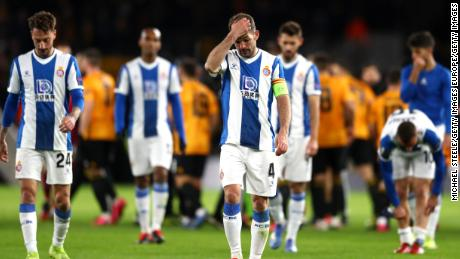 Lower Espanyol are facing relegation from La Liga, for the first time since 1993.