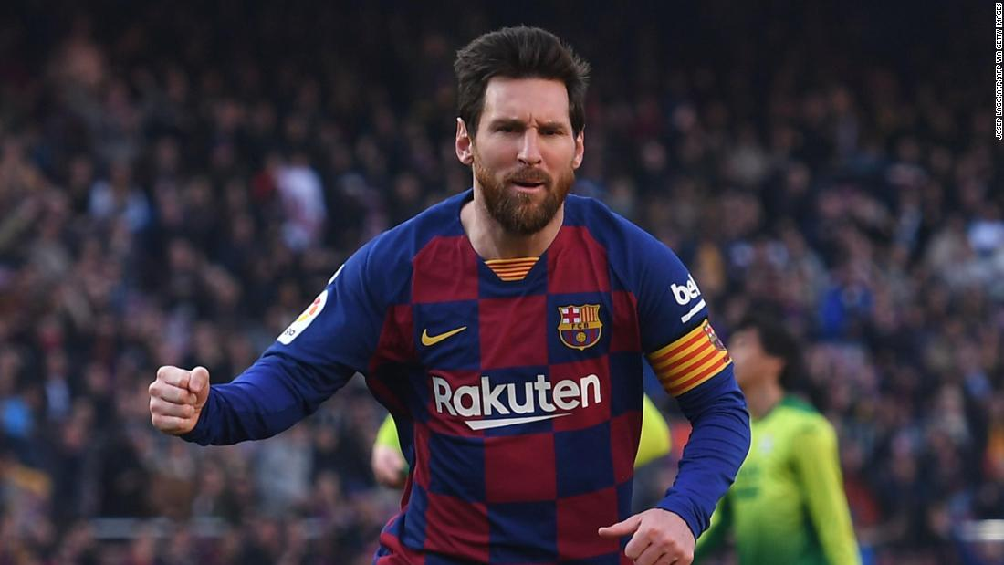 Lionel Messi chased his 11th La Liga title as Spanish football continues