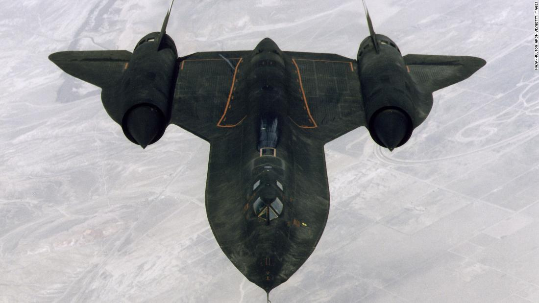 SR-71 Blackbird: A Cold War spy plane that remains the fastest aircraft in the world