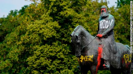 Statues of King Leopold II are being removed in Belgium. Who was he?