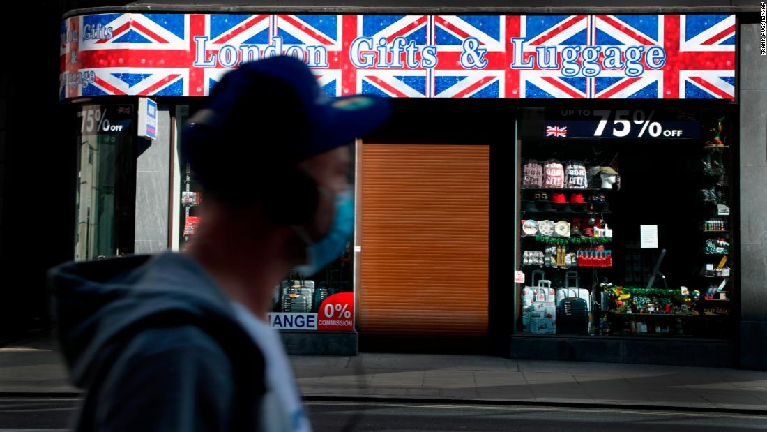 """The UK risks a """"catastrophic"""" strike by two-coronavirus and Brexit"""