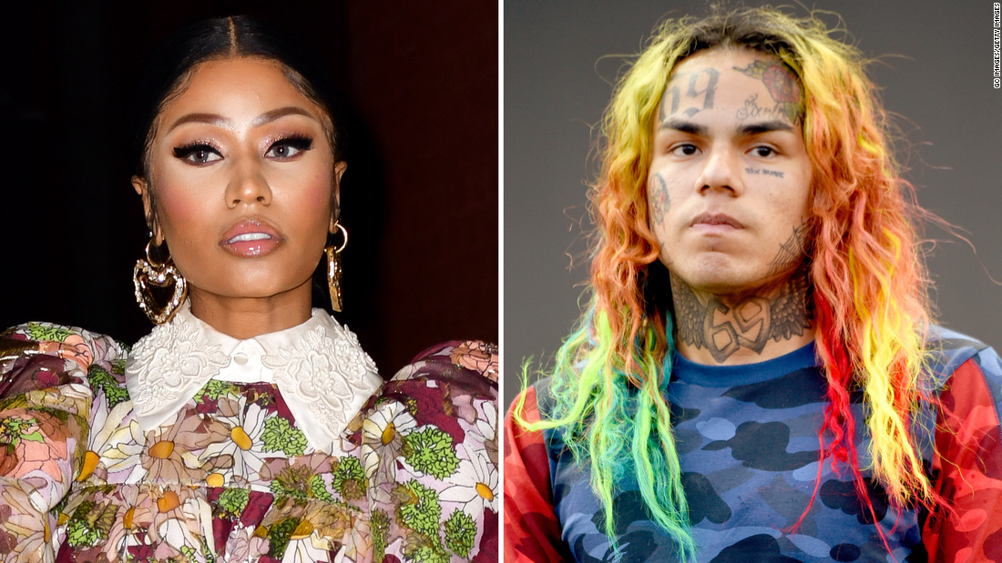 Nicki Minaj teams with Tekashi 6ix9ine for 'Trollz'