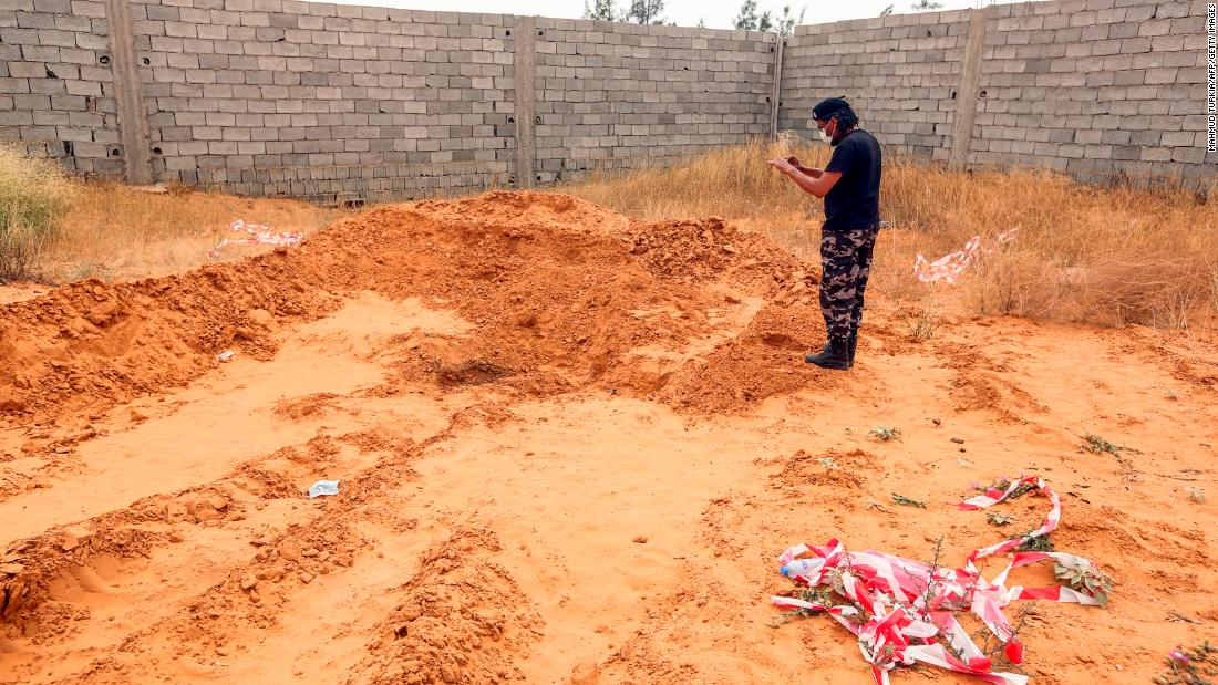 UN: Eight mass graves have been reported in Libya
