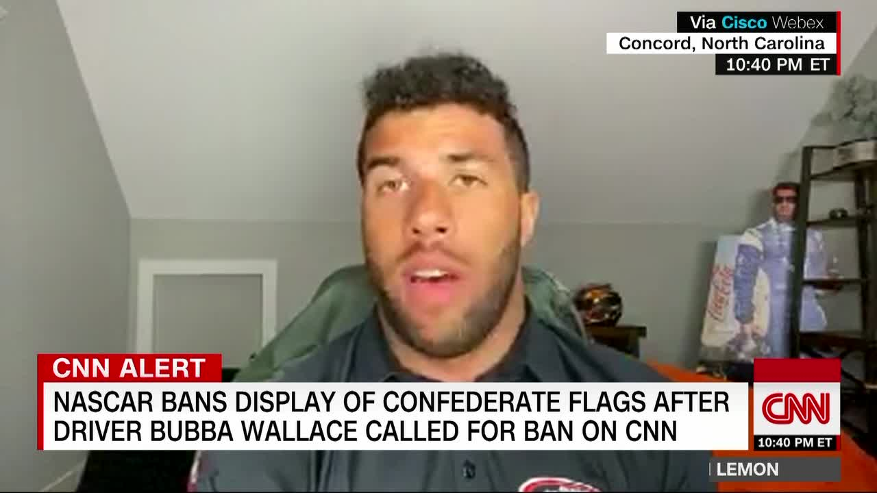 Bubba Wallace is excited about the change he saw at NASCAR this week