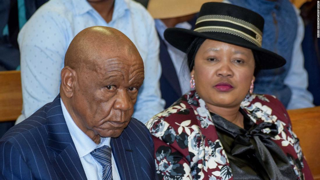 Lesotho murder: Former prime minister and wife pay for criminal gang, court papers say