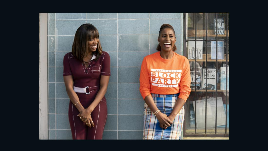 Issa Rae at the end of 'insecure' and why Covid-19 won't be part of season 5