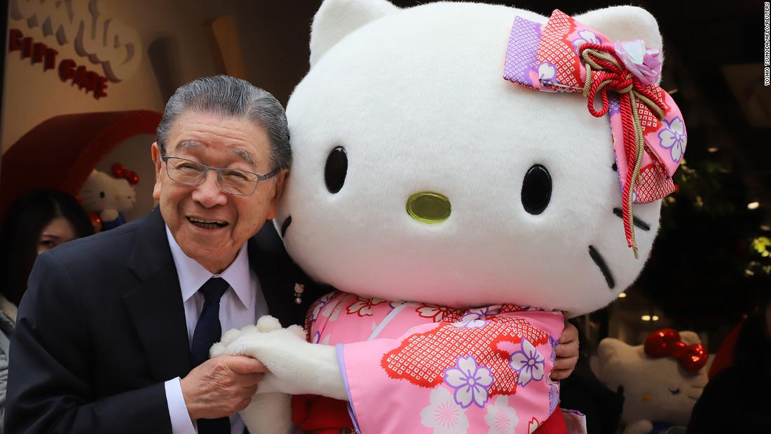 The 92-year-old founder of Hello Kitty is handing over the business to his grandson