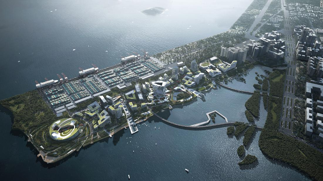 Net City: Tencent is building a monastic 'city of the future' in Shenzhen