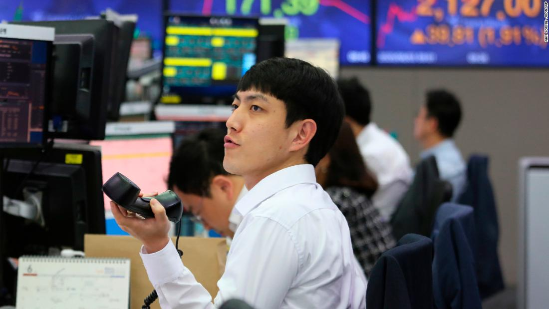 Asian markets are gathering as volatile week changes