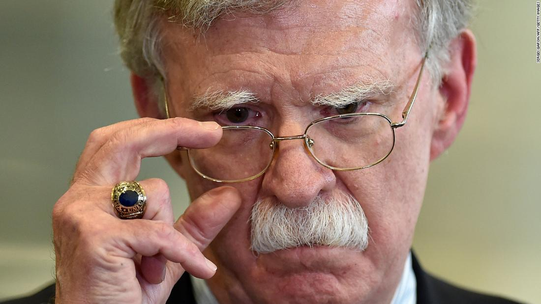 John Bolton's forthcoming book provokes a furious reaction from President Trump