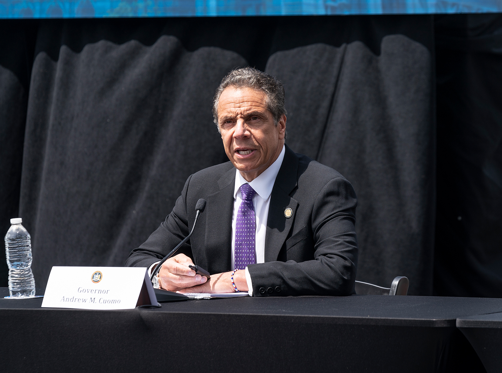 The governor of New York signed several laws on police reform