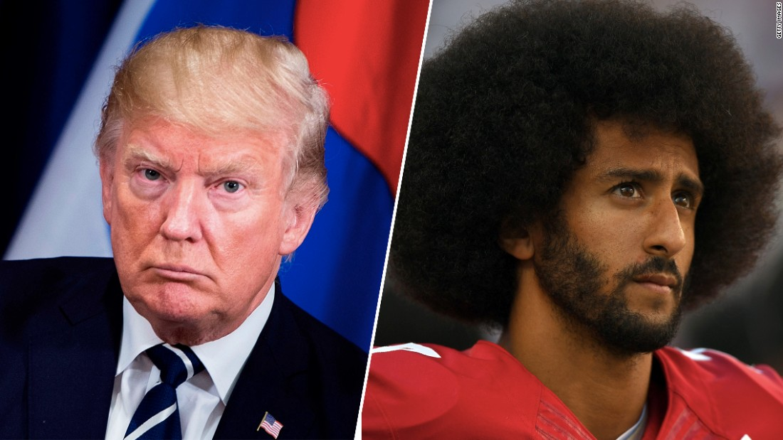 Trump says Colin Kaepernick should be given another chance in the NFL 'if he has the ability to play'