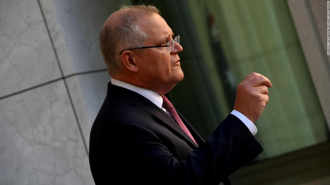 Cyber ​​attack in Australia: Prime Minister Scott Morrison says the culprit is 'sophisticated' and state-based