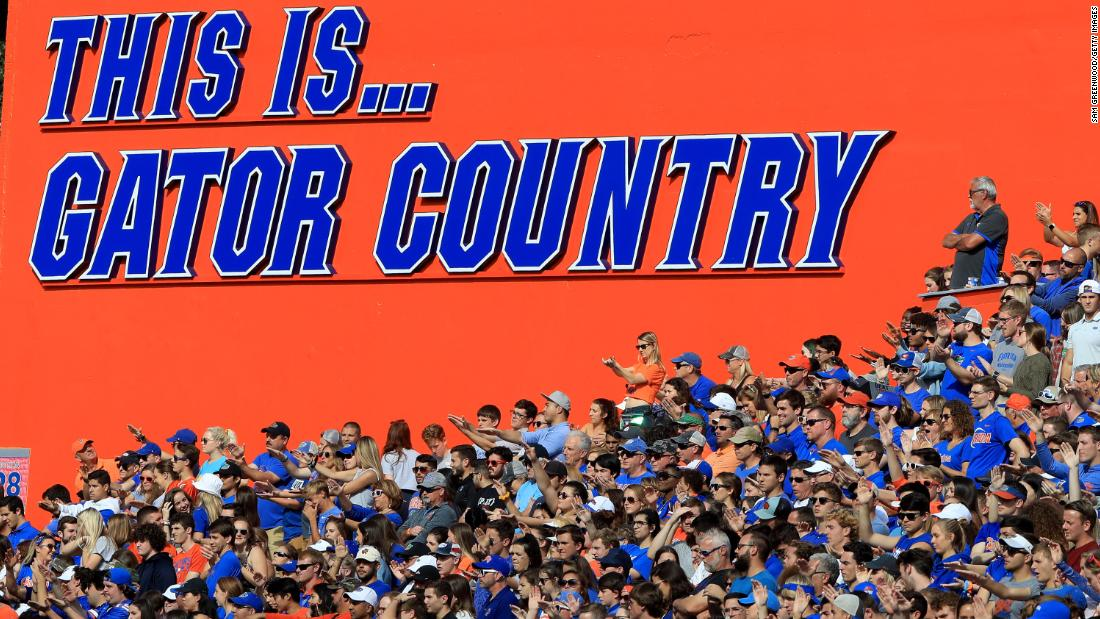 The University of Florida bans 'Gator Bait' cheering for sporting events