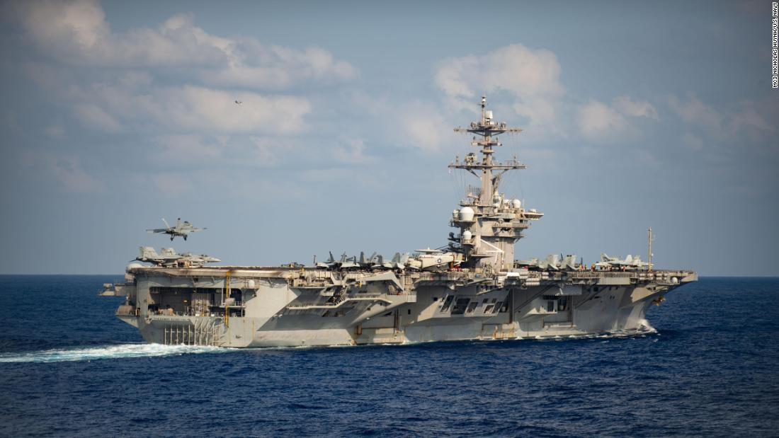 USS Roosevelt In a major reversal, the Navy decided to support the shooting of an aircraft carrier captain who warned of a coronavirus outbreak