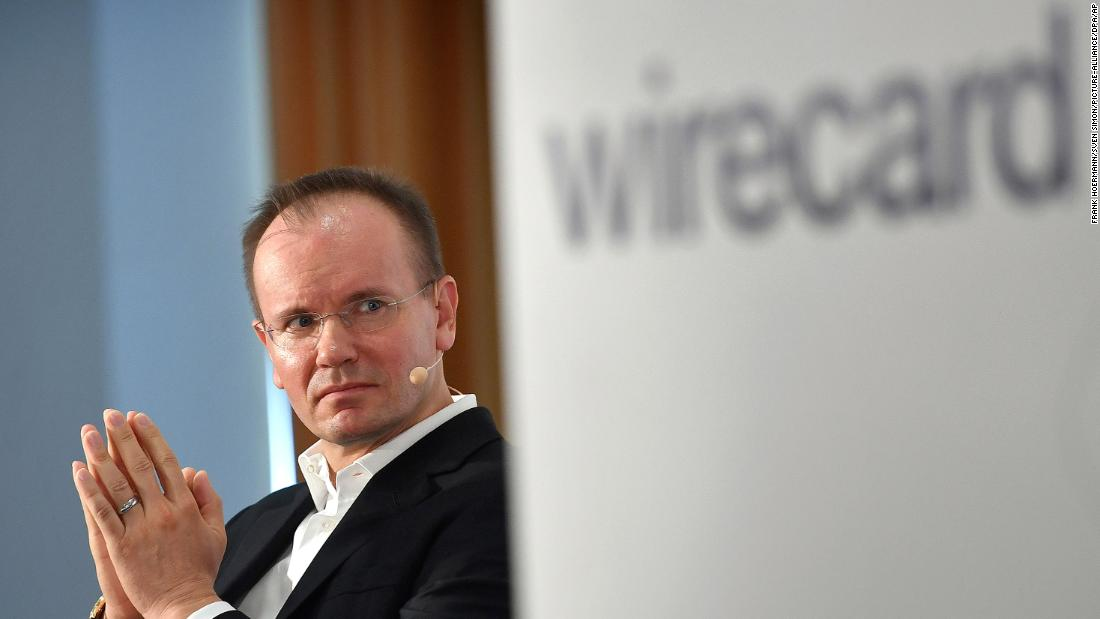 The director of Wirecard has resigned because two billion dollars are disappearing, they claim the fraud claims