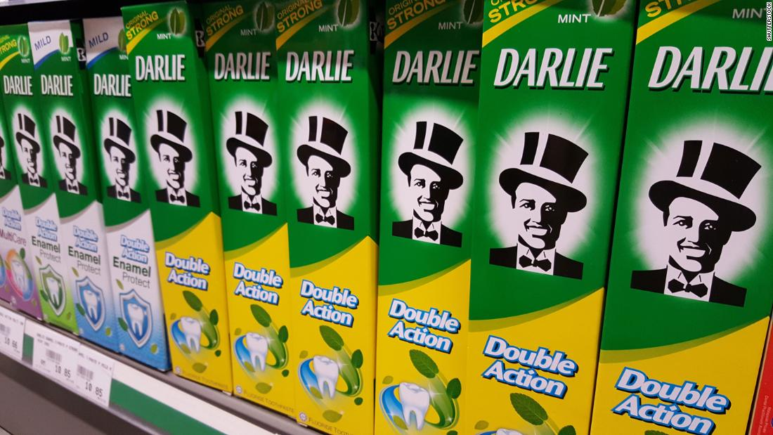 Darlie: Colgate is reviewing a brand of toothpaste after other U.S. companies acknowledge racist roots