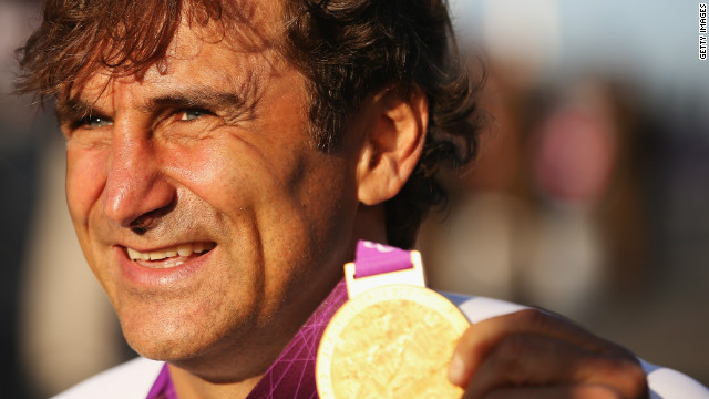 Alex Zanardi in a coma after a horrific motorcycle crash in Italy