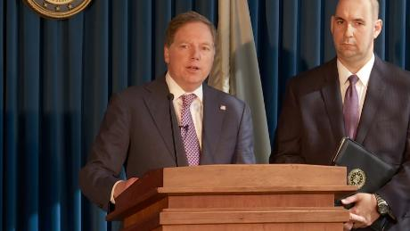 Who is Geoffrey Berman, a powerful American lawyer who refuses to step down?