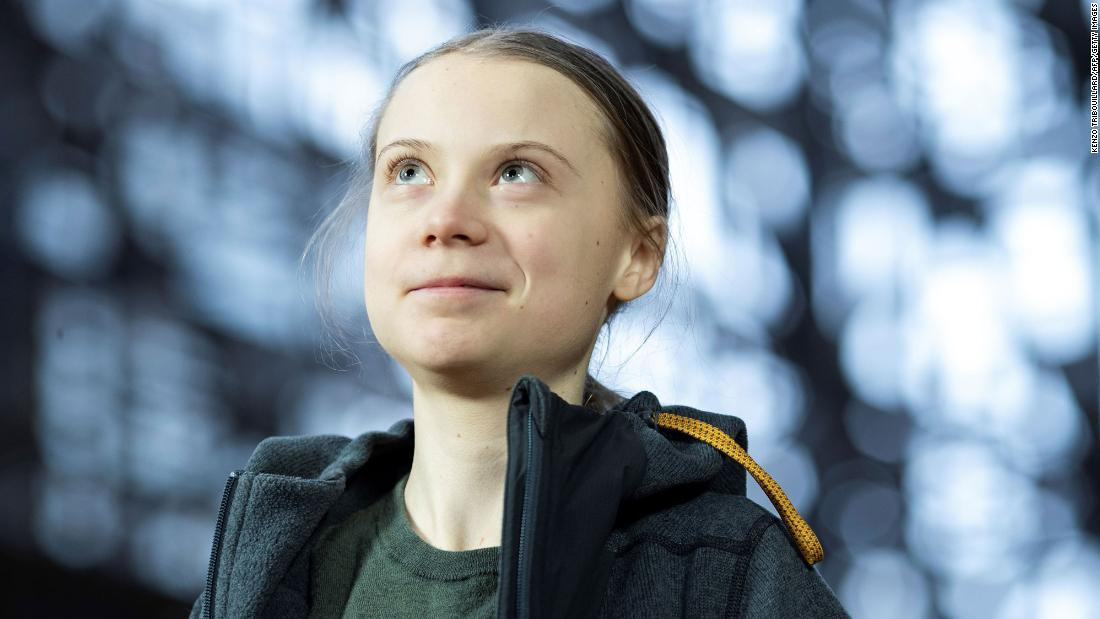 "Greta Thunberg: The Covid-19 response shows that the world can ""suddenly act with the necessary force"""