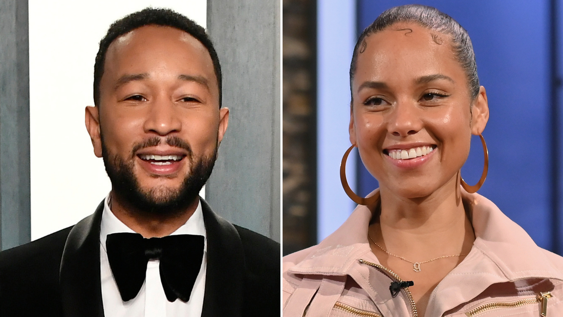 John Legend and Alicia Keys premiere new music in the latest Verzuz musical battle