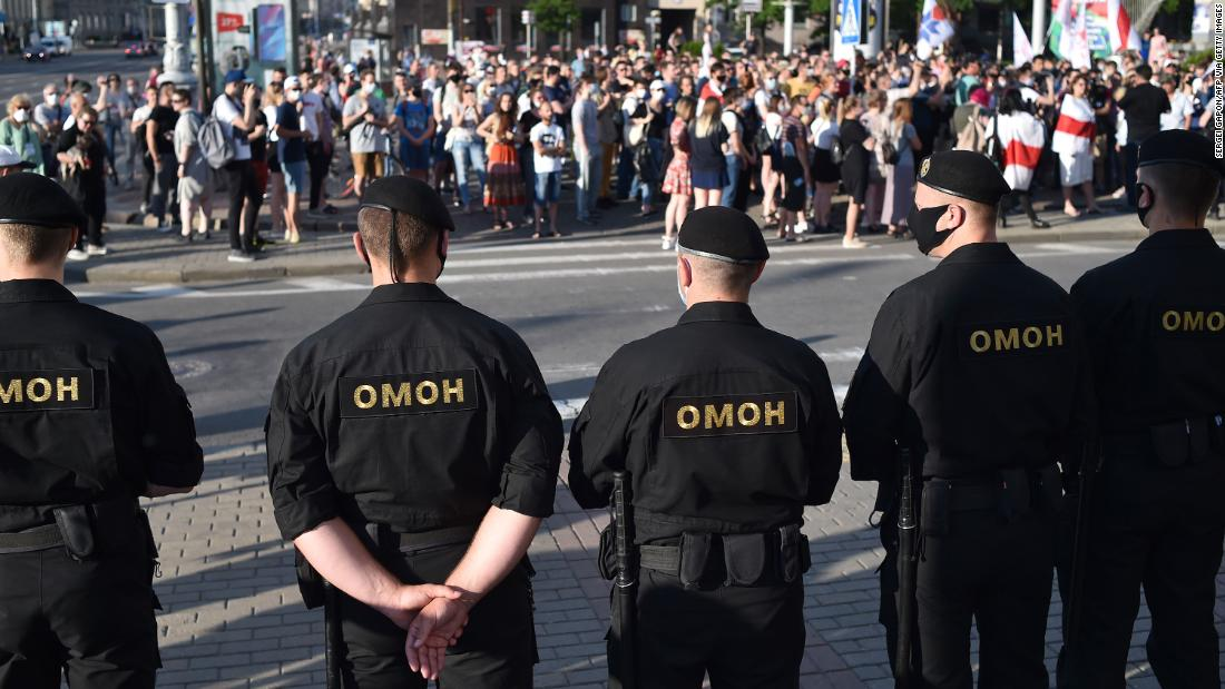 The Belarusian attacker is facing mass protests after the imprisonment of his main rivals