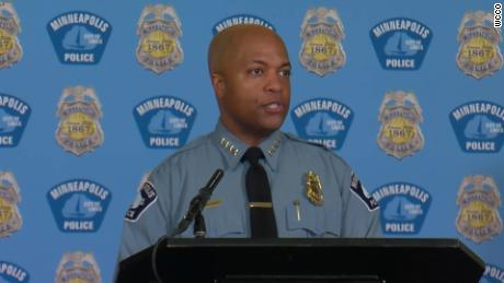 The Minneapolis police chief says the George Floyd family will inspire his reform efforts