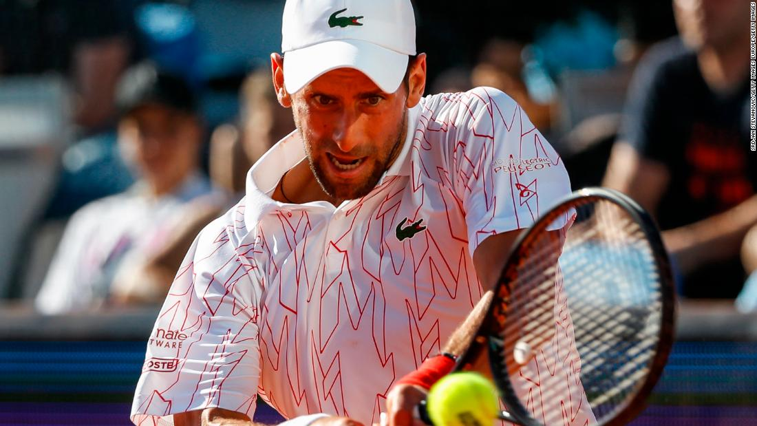 Novak Djokovic tests positive for coronavirus after the Adria Tour event