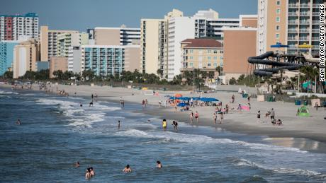 17 high school students tested positive after a trip to Myrtle Beach
