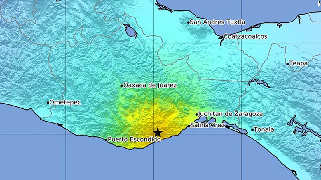 Mexican earthquake: A magnitude 7.4 earthquake shakes Oaxaca